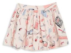 Little Girl's Printed Pleated Skirt $54 thestylecure.com