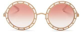 Pared Eyewear Women's Sonny & Cher Oversized Round Sunglasses, 50mm