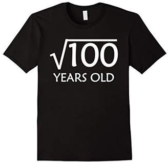 10th Birthday T-Shirt | Square Root of 100 - 10 Years Old