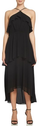 Women's Cece Lilly Tiered Halter Maxi Dress $168 thestylecure.com