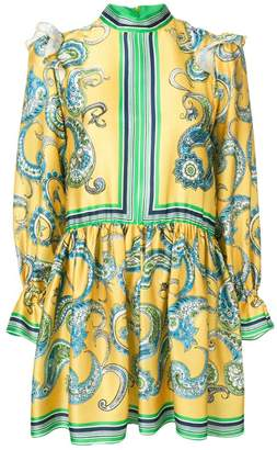 Philosophy di Lorenzo Serafini baroque print dress