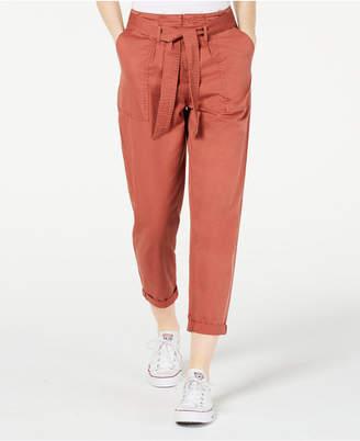 Vanilla Star Belted Cuffed Pants