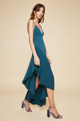 C/Meo COLLECTIVE TEMPTATION SHORT SLEEVE GOWN emerald