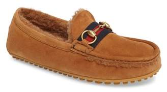 Gucci Kanye Driving Shoe with Genuine Shearling