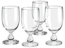 Dansk Set of 4 Hanna Iced Beverage Glasses