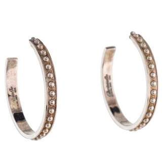 Christofle Madison Hoop Earrings