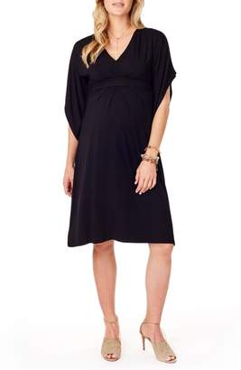 Ingrid & Isabel R) Split Kimono Sleeve Maternity Dress