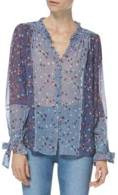 Paige Dorothy Silk Blouse