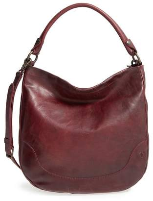 Frye Melissa Leather Hobo Shoulder Bag