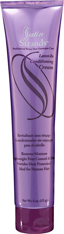 Satin Strands Professional Remy Hair Extension Care Leave-In Conditioning Cream