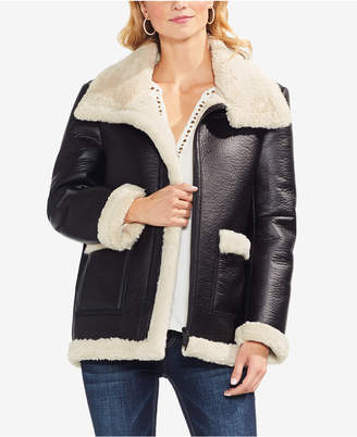 Vince Camuto Faux-Shearling Jacket