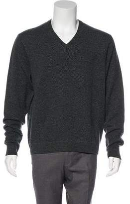 Ralph Lauren Purple Label Cashmere V-Neck Sweater w/ Tags