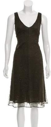 Donna Karan Sleeveless A-Line Dress