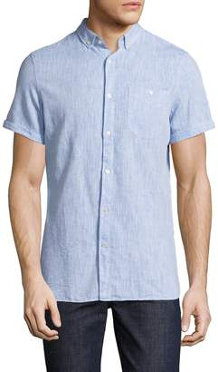 Knowledge Cotton Apparel Men's Button-Down Sportshirt