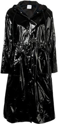 Roseanna varnished effect coat