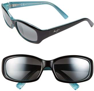 Maui Jim Punchbowl 54mm PolarizedPlus2(R) Rectangular Sunglasses