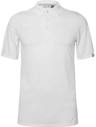Kjus Golf Seapoint Mesh-Panelled Jersey Golf Polo Shirt