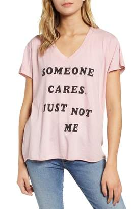 Wildfox Couture Romeo - Just Not Me V-Neck Tee