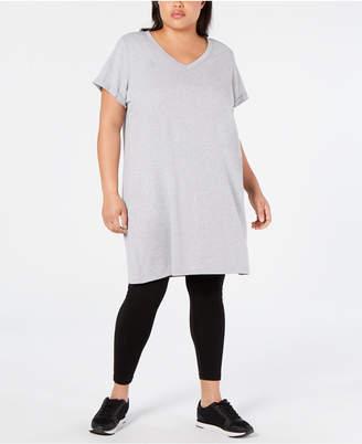 Calvin Klein Plus Size Cotton T-Shirt Dress