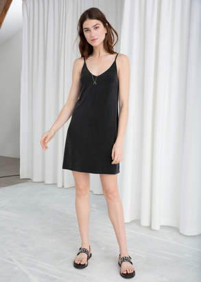 And other stories Spaghetti Strap Shift Dress