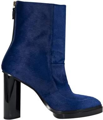Jason Wu Blue Pony-style calfskin Ankle boots