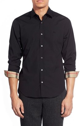 Men's Burberry Brit 'Cambridge Aboyd' Slim Fit Sport Shirt $265 thestylecure.com