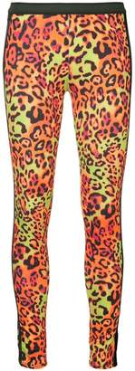 Kru leopard print thermal leggings