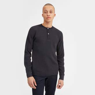 Everlane The Waffle-Knit Henley