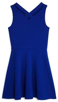 Aqua Girls' Cross Front Dress, Big Kid - 100% Exclusive