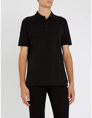 HUGO Cotton-pique polo shirt