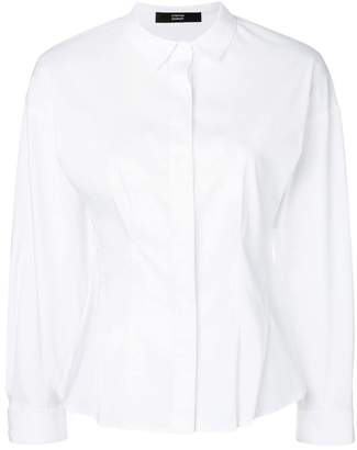 Steffen Schraut pleated detail shirt