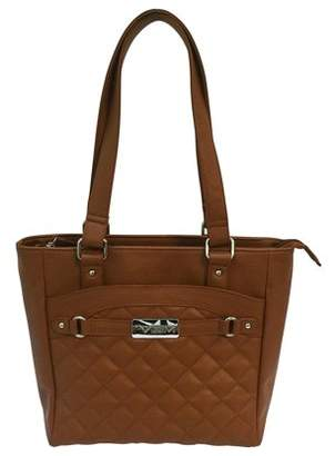 NcStar VISM Concealed Carry Quilted Tote Brown