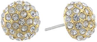 MONET JEWELRY Monet Pav Ball Stud Earrings