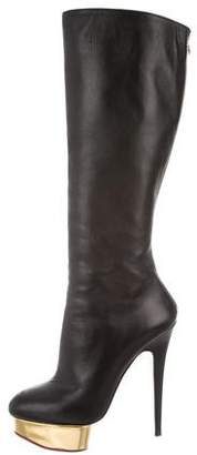 Charlotte Olympia Bonnie Knee-High Boots