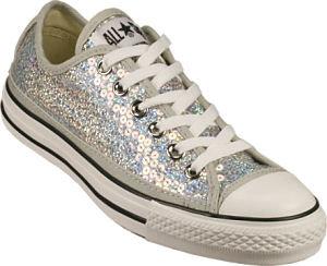 Converse Women's - Chuck Taylor All Star Sequins Silver