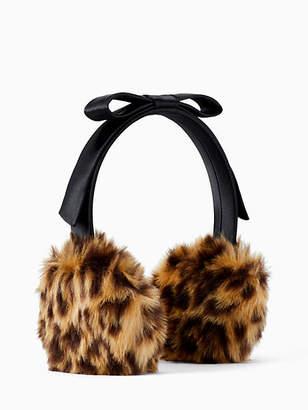 Kate Spade Faux fur earmuff