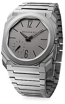 Bvlgari Women's Octo Finissimo Titanium Bracelet Watch