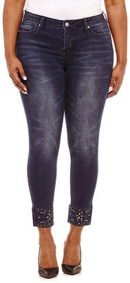 Hydraulic 28 Jeweled Ankle Jean-Juniors Plus