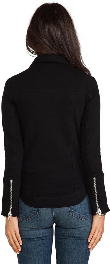 Chaser Fleece Moto Jacket