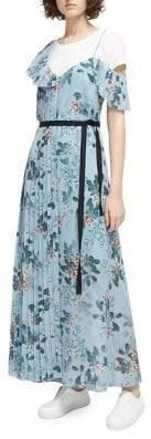 French Connection Kioa Drape Maxi Dress