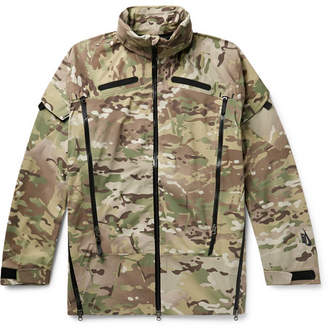 Nike Camouflage-Print Stretch-Shell Jacket