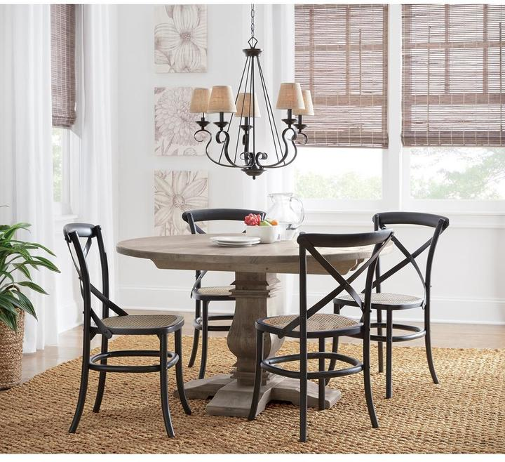 Round Dining Tables Ideas And Styles For Sophisticated: Home Decorators Collection Aldridge 53 In. Round Dining