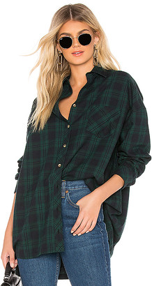 by the way. Audriana Oversized Flannel Top