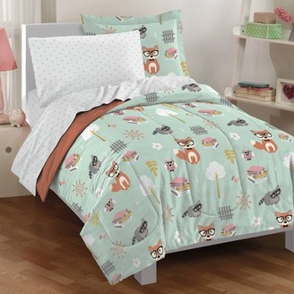 Factory Dream Woodland Friends Bed in a Bag, Green