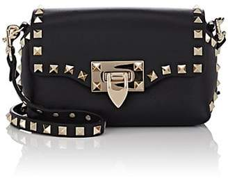 Valentino Women's Rockstud Mini Leather Crossbody Bag