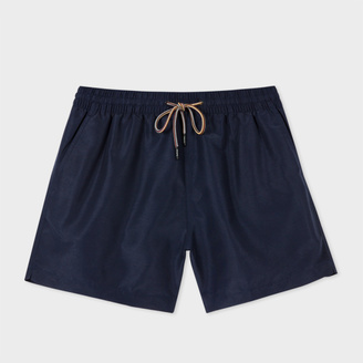 Men's Navy Swim Shorts $125 thestylecure.com