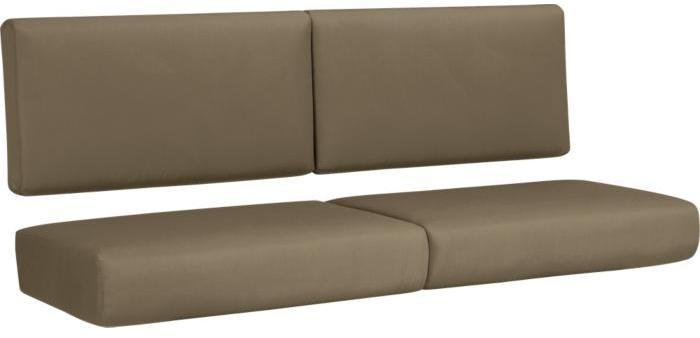 Trovata Sunbrella ® Cocoa Sofa Cushions