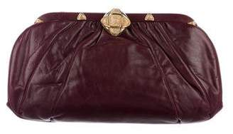 Judith Leiber Leather Frame Bag