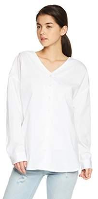 WEGO (ウィゴー) - (ウィゴー) WEGO(ウィゴー) 2WAYクロスシャツ BR18SP03-L022 ホワイト F