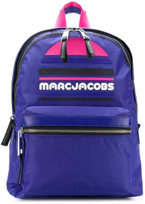 Marc Jacobs Trek Pack large logo backpack
